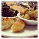 Cornbread-collards